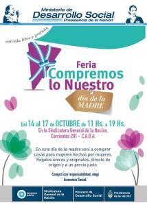 Feria Compremos lo Nuestro Día de la Madre- 09-10